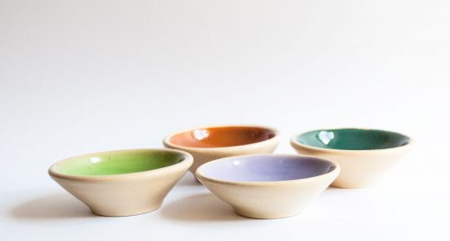 Allan Lowe - Earthenware Dishes, 1960s