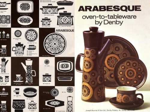 Denby Arabesque Magazine Advertisement