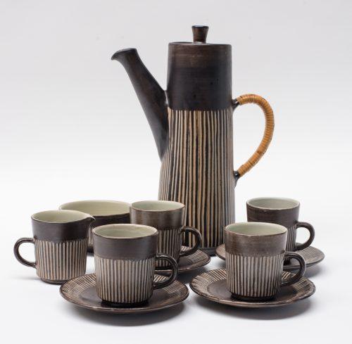 "BR Denmark, ""Amazonas"" Coffee Set"