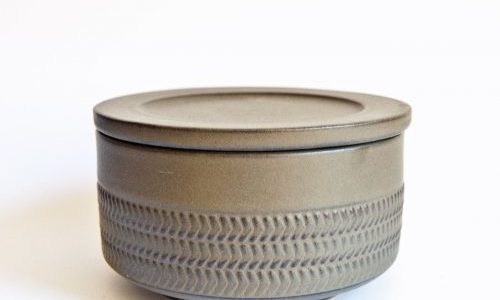 Denby Chevron Lidded Bowl