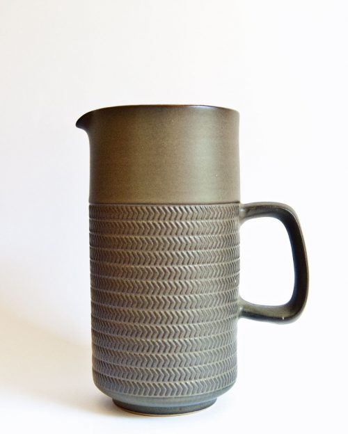 Denby Chevron Tall Jug