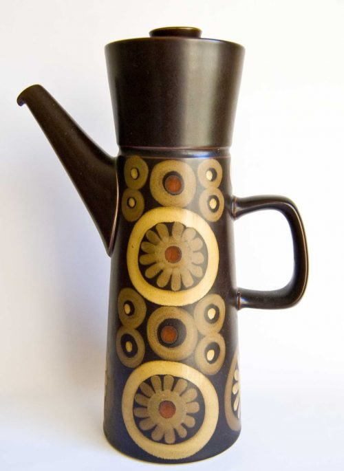 Denby Arabesque Tall Coffee Pot