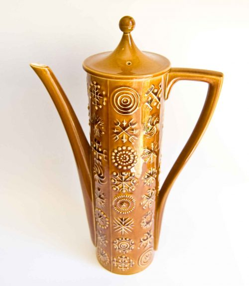 "Portmeirion ""Totem"" Coffee Pot"