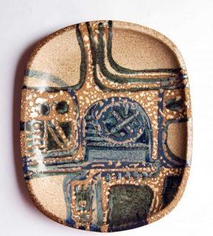 Lapid Israel - Modernist Plate