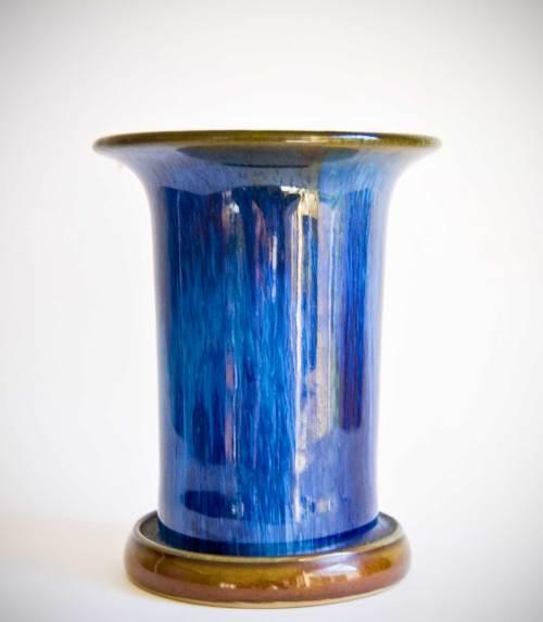 Denby Electric Blue Vase