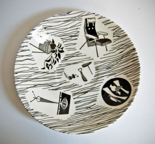 Homemaker Plate, Enid Seeney