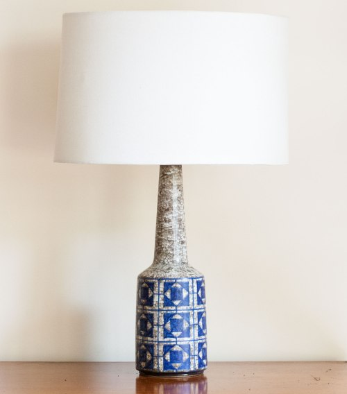 Michael Andersen & Sons, Lamp with Persia Glaze