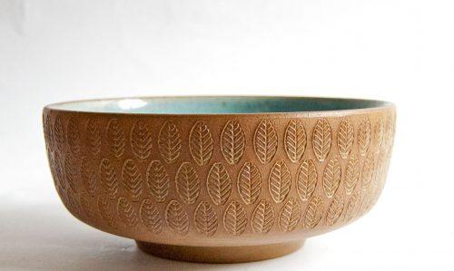 Stoneware Bowl, Michael Andersen & Sons, Marianne Starck Design