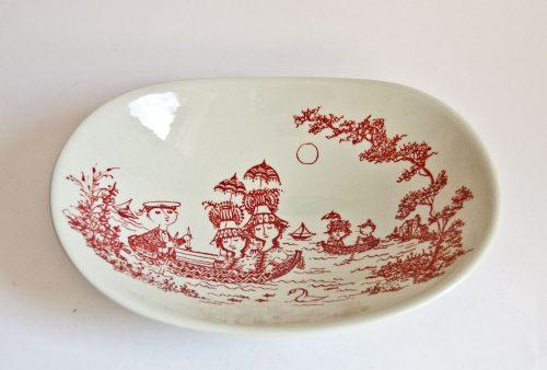 """Bjorn Wiinblad """"Marine"""" bowl, Nymolle"""