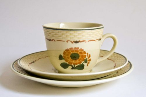 Morgenfrue Cup/Saucer Aluminia, Nils Thorsson