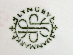 Lyngby Backstamp 1960s