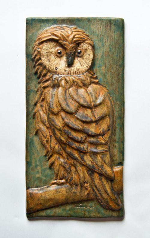 Ejvind Nielsen, Owl Plaque