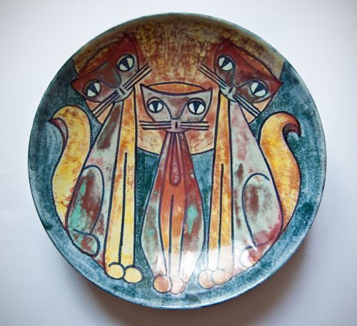 Persia Glaze Bowl by Marianne Starck, M.A.S. Denmark