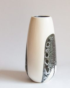 """Lapid Israel, Large """"Splat"""" Vase, Batia"""