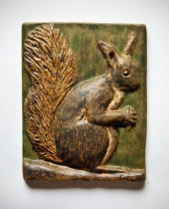 Ejvind Nielsen, Squirrel Plaque