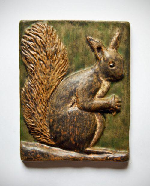 Ejvind Nielsen, Squirrel Plaque