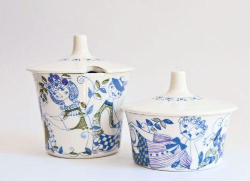 Figgjo Lotte Sugar Bowls