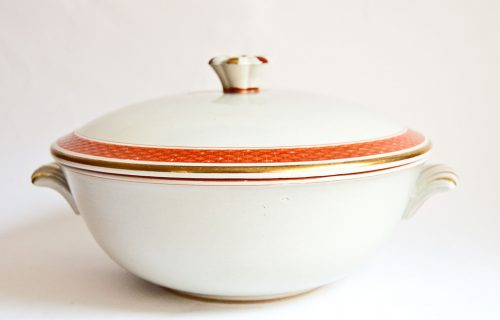 Oranja/Tureby Tureen, Design Nils Thorsson, Aluminia//Royal Copenhagen
