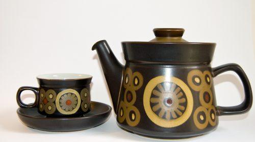 Denby Arabesque Teapot