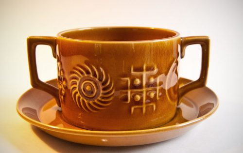 "Portmeirion ""Totem"" Soup Bowl"