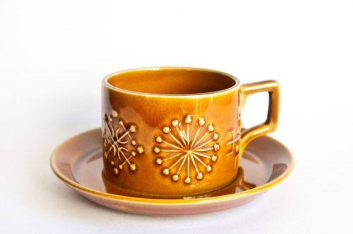 "Portmeirion ""Totem"" Cup/Saucer"