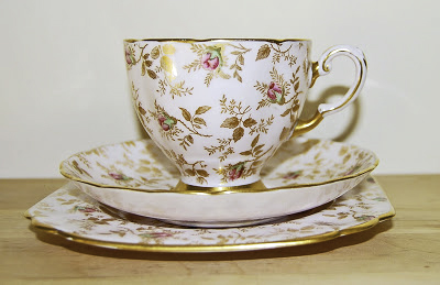 Tuscan Fine China, Du Barry Rose