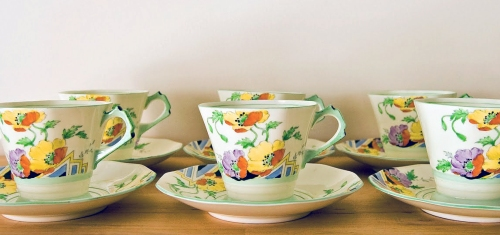 Tuscan Fine China, Art Deco Design