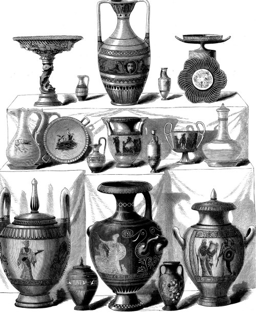 Danish Pottery, 1876 Art Journal