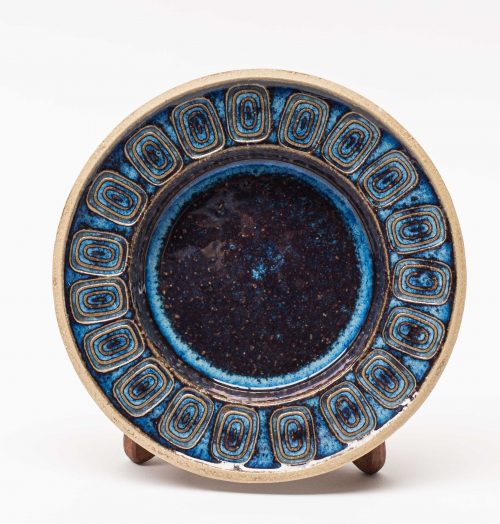 Soholm Blue Patterned Dish - Maria Philippi