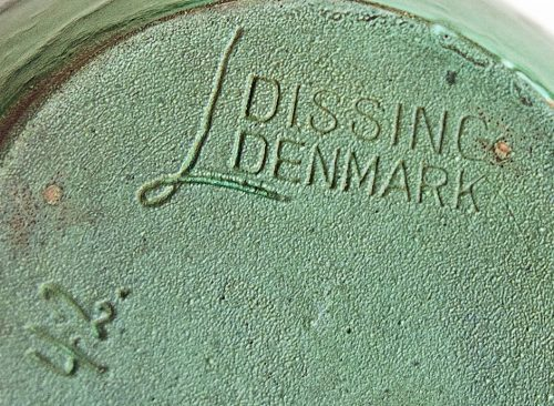 Leon Dissing, Denmark c1930s - Backstamp & Signature or Cypher