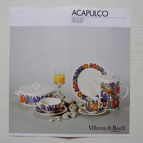 Acapulco Advertising Brochure