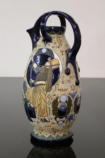 Amphora Czechoslovakia Vase