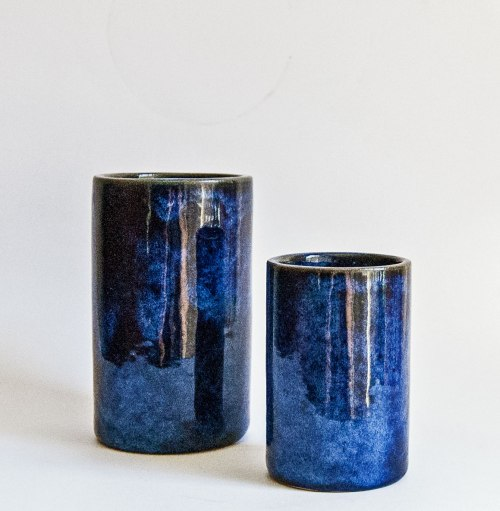 Hjorth Cylindrical Vases - 1960s
