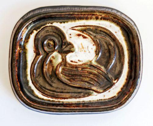 Kingo Keramik Denmark, Bird Plaque