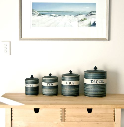 Gemma DeRidder, Large Canister Set