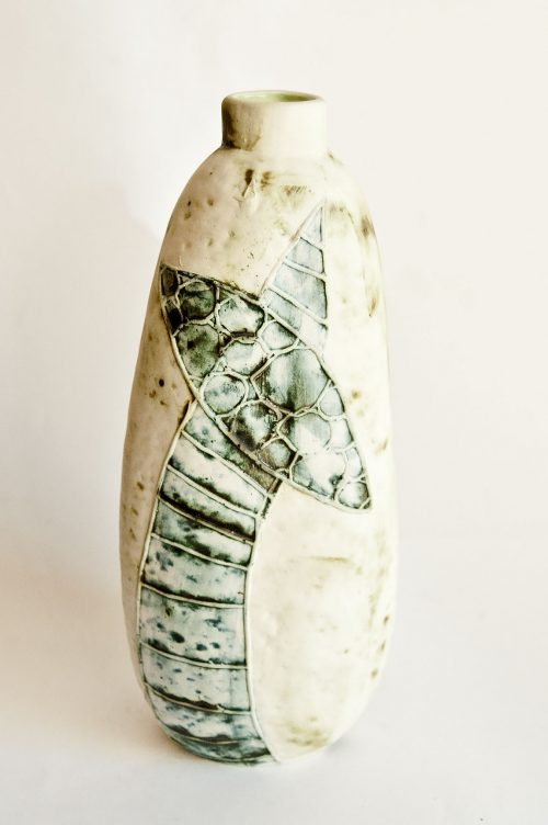 Carn Pottery Bottle Vase Form