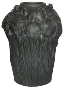 L. Hjorth, Black Ware Vase