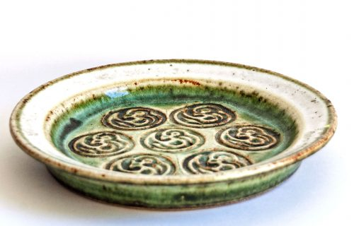 Kingo Keramik Denmark, Stoneware Plate