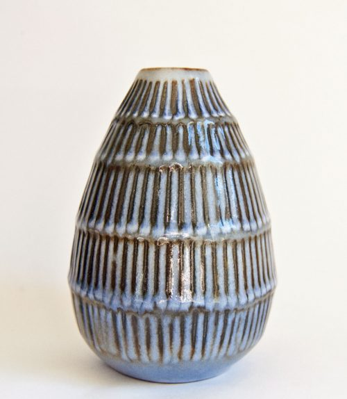 Hjorth Ribbed Vase 1960s