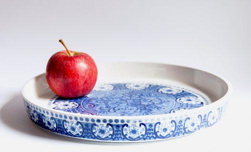 Arabia Finland, Ali Design - Blue, Large Platter