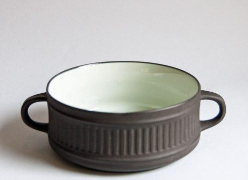 Flamestone Lidded Sugar Bowl, Jens Quistgaard, Dansk Design