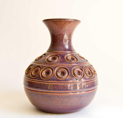 Eric Juckert - Bud Vase, Manganese Glaze