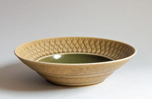 "Kronjyden Nissen, Jens Quistgaard, ""Relief"" Design Main Bowl"