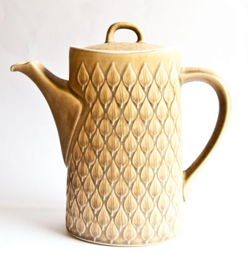 "Kronjyden Nissen, Jens Quistgaard ""Relief"" Design , Coffee Pot"