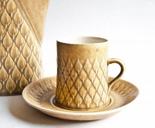 """Kronjyden Nissen, Jens Quistgaard """"Relief"""" Design Cup, Coffee Cup"""