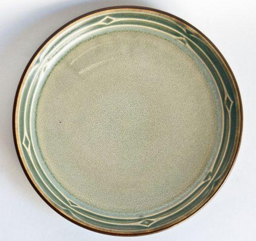 Rune Design Plate, Jens Quistgaard for Kronjyden Nissen