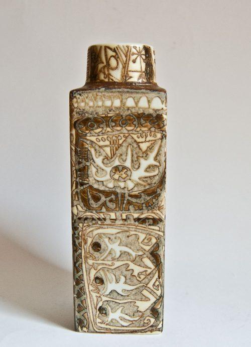 Nils Thorsson , Royal Copenhagen Vase, Pattern 710