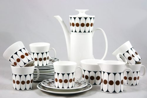 Black Velvet Coffee Set - John Russell