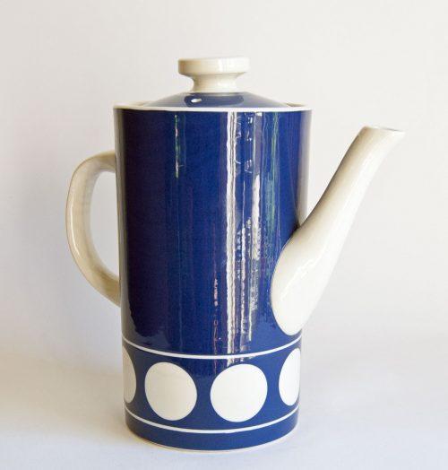 T G Green - Jersey Blue Coffee Pot - Judith Onions