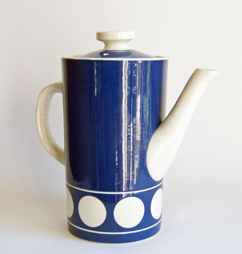 T G Green - Jersey Blue Coffee Pot - Judith Onions